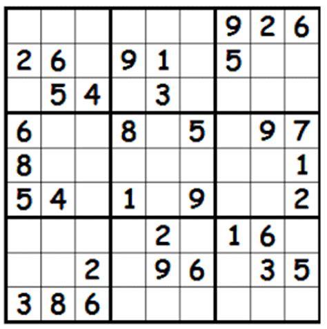 printable sudoku puzzles uk printable sudoku