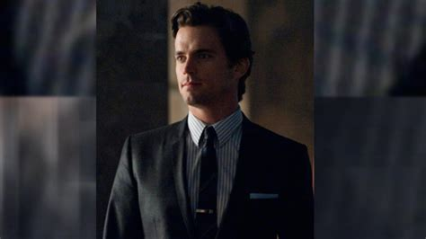 matt bomer designs white collar inspired  entertainment tonight