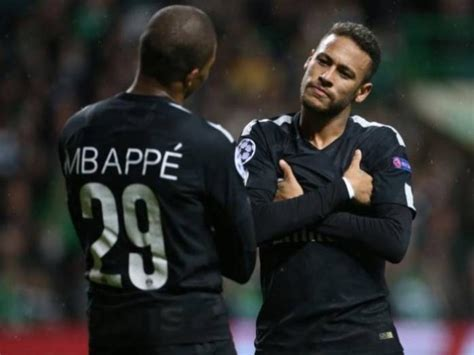 kylian mbappe and neymar pierre ducrocq neymar kylian mbappe don t have psg in