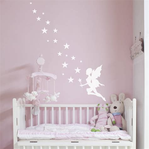 Wall Stickers For Girls Bedrooms fairy magic wall sticker by nutmeg notonthehighstreet com