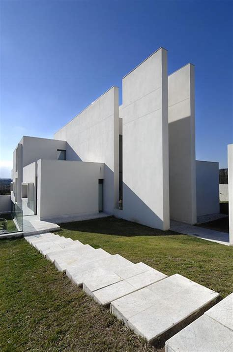 modern architect camarines house in madrid spain by a cero architects