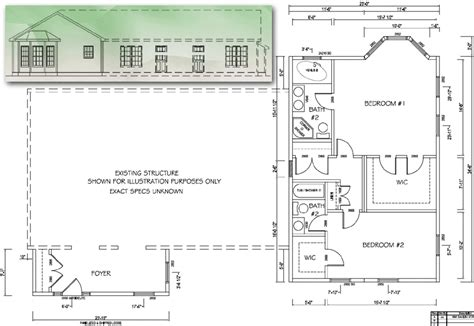 ranch home addition plans home plan