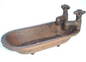 rustic antique cast iron clawfoot tub bathtub soap dish ebay