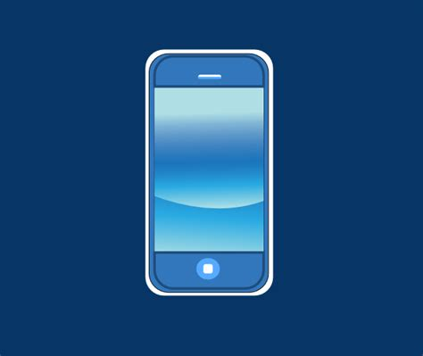 Blue Iphone In Box Clip Art at Clker.com - vector clip art ... Free Clipart On The Web