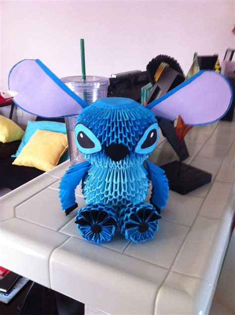 3d origami stitch tutorial stitch 2 by chongman on deviantart