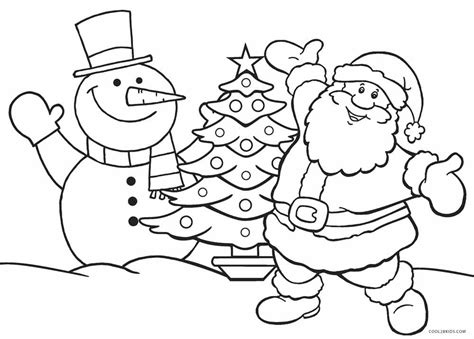 free coloring pages printable free printable santa coloring pages for cool2bkids
