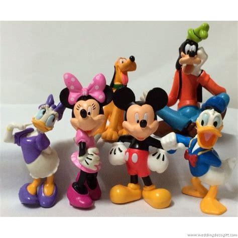 Disney Figure Donald Mickey Minnie Goofy Pluto mickey mouse goofy pluto minnie donald duck figurine cake topper mmct09