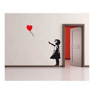 Banksy Wall Sticker banksy balloon girl wall sticker