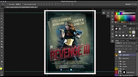 poster template photoshop how to customize a poster template in photoshop