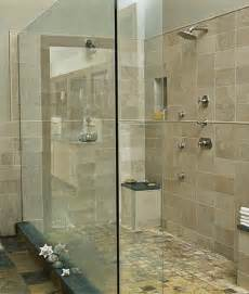 shared shower 2 sinks 2 person shower 1 happy
