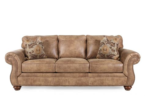 sofa ashley ashley larkinhurst earth sofa mathis brothers furniture
