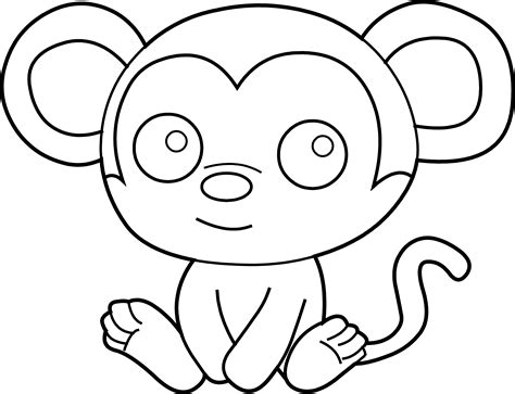 little monkey coloring pages little monkey coloring page free clip art