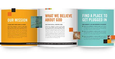 Church Brochure Design by Church Brochure Sles Search Church Design