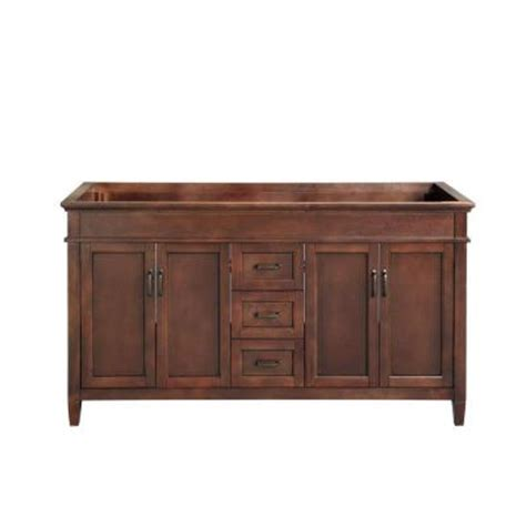 foremost ashburn 60 in w x 21 50 in d x 34 in h vanity