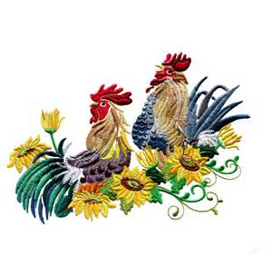 Amazing Design Swnrr126 Rooster Embroidery Design