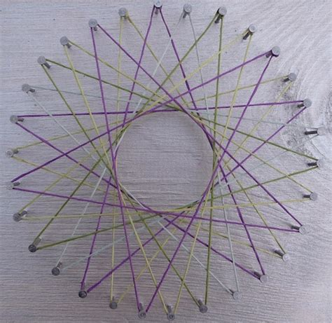 String And Nail Patterns - string artclubblog