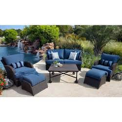 sunbrella patio set member s kingston outdoor patio seating set with