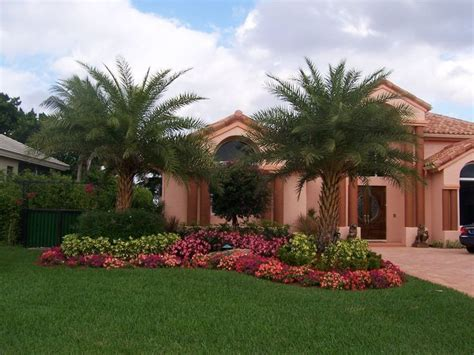 curb appeal landscaping tropical images of florida