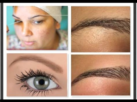 At Home Eyebrow Grooming by Part 2 Eyebrows Shaping Threading Get Eyebrow