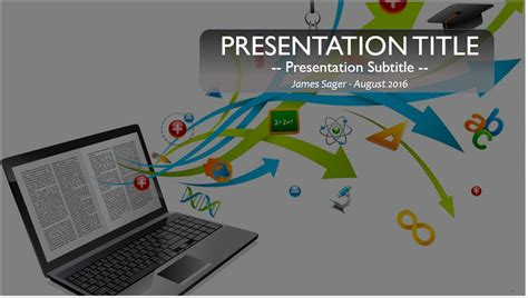 Free Powerpoint Templates Education Technology Images Educational Technology Ppt Templates Free