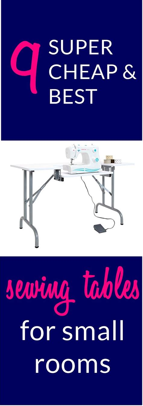 diy folding sewing table best 25 sewing cutting tables ideas on