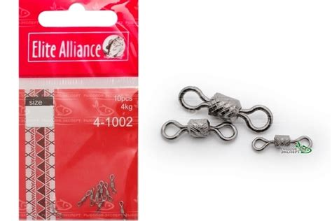 Winner Impressed Rolling Swivel Size 9 вертлюги elite alliance impressed rolling swivel рыболов эксперт
