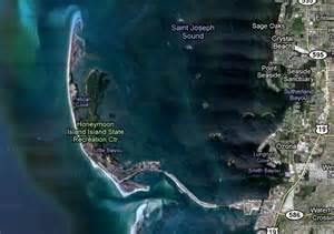 caladesi island map