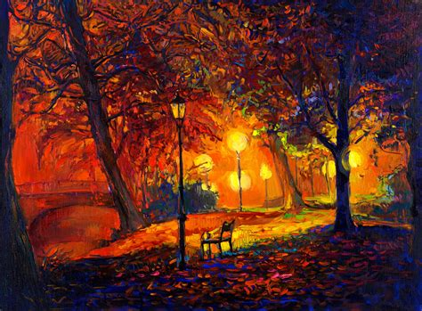 painting for free wallpaper painting landscape autumn watercolor