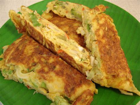 cara membuat omelet telur ala hotel tasty indonesian food telur dadar ala warteg