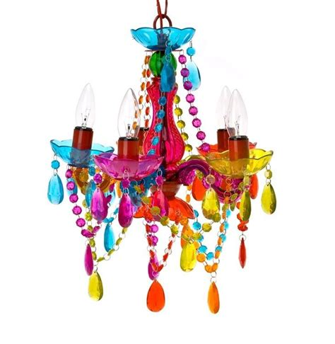 colorful chandeliers colourful chandelier funky bedroom