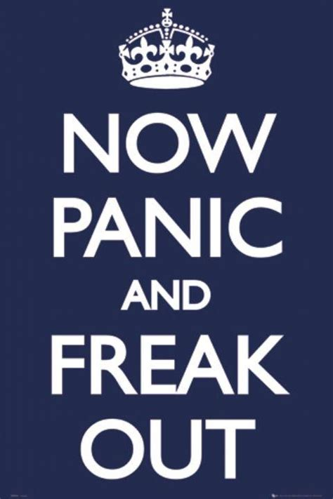 Keep Calm And Don T Despair amazing quotes now panic and freak out