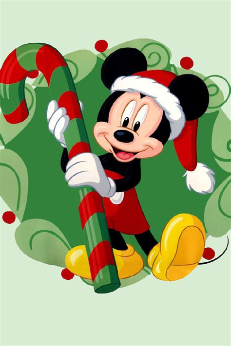 disney mickey mouse and friends christmas party wallpaper