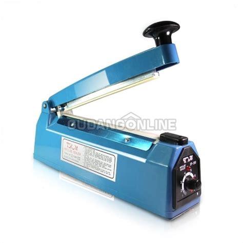 Impulse Sealer 20 Cm Press Plastik trm mesin press plastik plastic impulse sealer sp 200 20cm