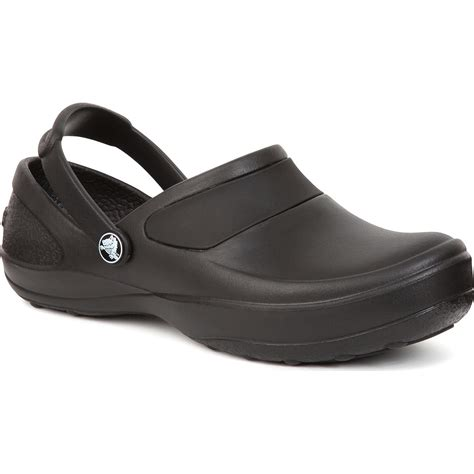 slip resistant clogs for crocs s mercy work slip resistant clog 10876060