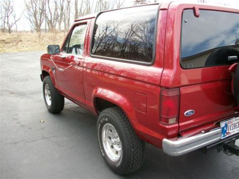 how does cars work 1984 ford bronco ii electronic valve timing sell used 1984 ford bronco ii xlt 4 x 4 rust free v6 automatic in noblesville indiana