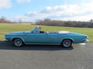 1963 Chrysler 300 For Sale 1963 Chrysler 300 Convertible Barrett Jackson Auction