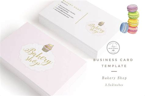 16 Bakery Business Card Designs Exles Psd Ai Vector Eps Bakery Business Card Template
