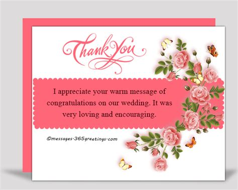Wedding Congratulation Speech by Thank You Messages For The Congratulations 365greetings
