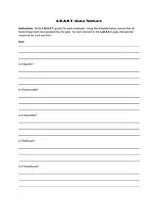 smart goal template 48 smart goals templates exles worksheets template lab