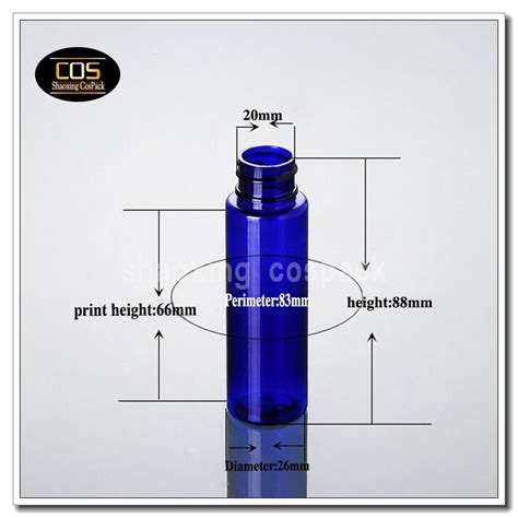 100pcs 30ml empty dropper blue skincare bottle plastic shaoxing cospack store