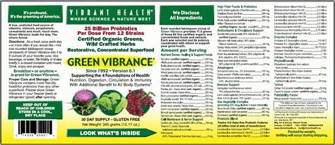 Green Vibrance Detox Effects by Everything There Is To About Green Vibrance What Is