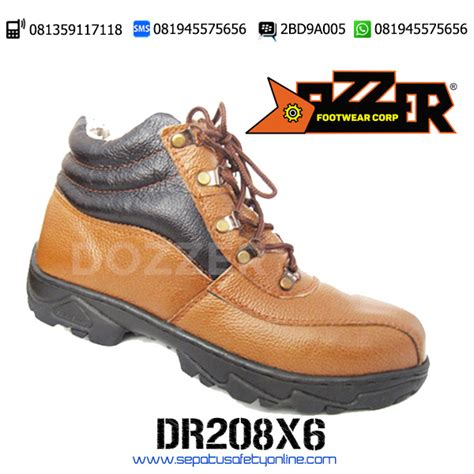 Caterpillar Safety Semi Boot sepatu safety semi boot murah berkualitas