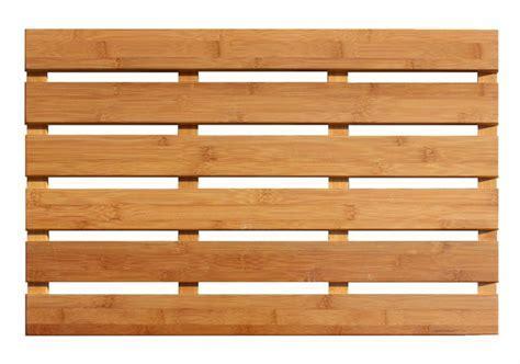 Wooden Bath Mats are Wood Shower Mats by American Floor Mats