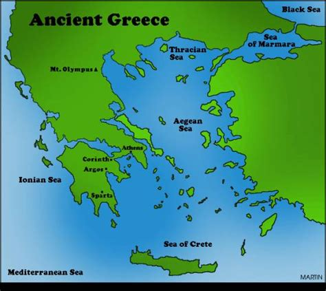 map of archaic greece free map of ancient greece map travel