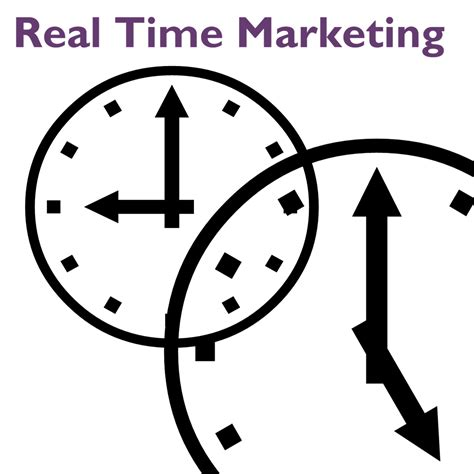 real time real time marketing takes real time purple diamond marketing