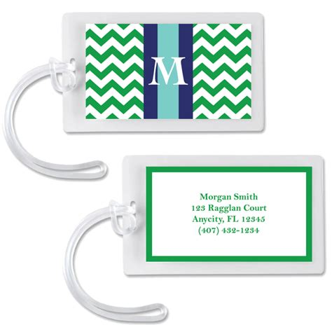 8 best images of free printable monogram tags monogram
