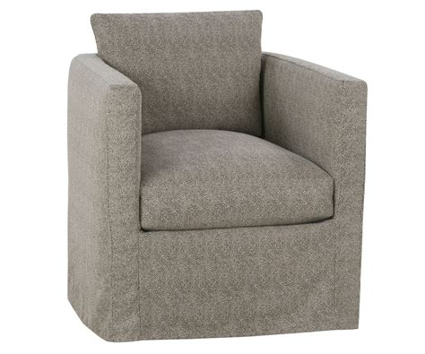 contemporary swivel chairs contemporary slipcovered swivel chair