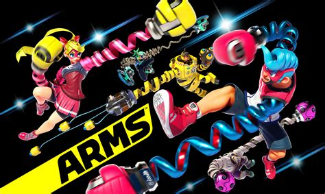 Nintendo Switch Arms preview trading blows with arms on nintendo switch nintendo