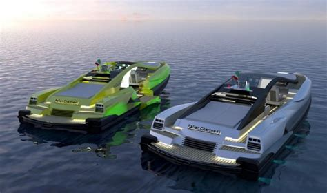 2 Story Home Design Names superyacht tenders designed to look like exotic cars