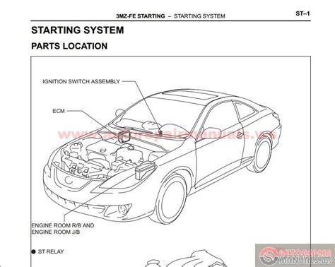online service manuals 2007 toyota camry solara instrument cluster toyota camry solara 2002 2009 s factory repair manual auto repair manual forum heavy